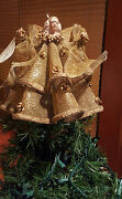 Sandy Dolls Gold Deandra Angel The Angelic Maille Collection Tree Topper