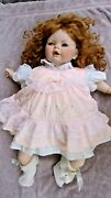 Vintage Doll And Accessories. 1989 Signed By Her Creator Sue Price.