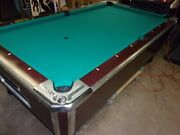Valley Zd8 7 Ft. Coin Op Pool Table Pt235