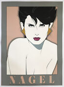 Nagel Signed Limited Edition Serigraph 1983. Contemporary Art.