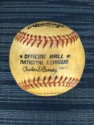 Rawlings Baseball Official Ball Charles S Feeney National League Haiti Cork Ro-n