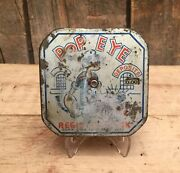 Antique 1929 Metal Popeye Dime Register Bank Automatic Counter Advertising Sign