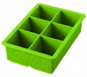 King Ice Cube Tray 11.2x16x5.1cm Fade-resistant Silicone Green