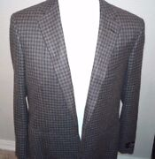 3195 Belvest Pure Cashmere  Sport Coat Size 44 R Hand Made In Italy