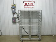 40 X 26 Aluminum Double Side Bakery Sheet Pan Rack Bakers Cart Stainless Top