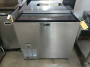 Used Perlick Fr36 36 Commercial Underbar Glass Froster / Freezer