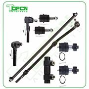 Qty9 Fits 1991-2000 2001 Jeep Cherokee Front Ball Joints Tie Rods Suspensions