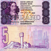South Africa 5 Rand Banknote World Paper Money Currency Pick P119d 1989/1990