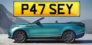Patsey P47 Sey Patsy Pat Private Plate Cherished Number Reg Patricia