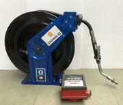 Graco Hsmd5b Xd Series Hose Reel With Flowmeter For Petroleum And Oil 1