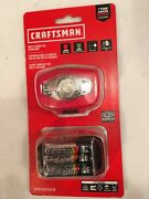 Craftsman Multi Color Led Headlamp With Batteries Cmxlhag65570
