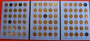 1909-1940 Lincoln Cent Whitman Folder Book 84 Coins 5 Missing Nice Circ Lw3