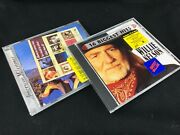 Pre-owned Lot Of 2 Willie Nelson Cds