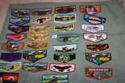 Order Of The Arrow Oa Boy Scouts Lot Of 30 Different Oa Flaps F