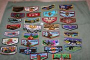 Order Of The Arrow Oa Boy Scouts Lot Of 30 Different Oa Flaps N