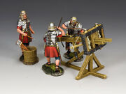Rom033 The Ballista Crew And Set By King And Country