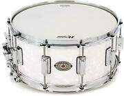 Rogers Drums Dyna-sonic Snare Drum - 6.5 X 14 White Marine Pearl - Beavertail