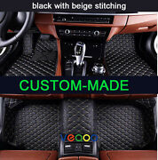 Floor Mats For Lincoln Navigator 7 Seat 2016-2017 All Weather Automobile Carpets