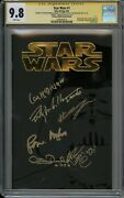 Star Wars 1 German Variant 835 Cgc 9.8 Signed By 6 - Mcdiarmid Mayhew And More