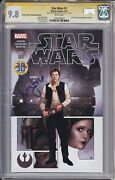 Star Wars 1 Variant Edition Cgc 9.8 Signed By Harrison Ford