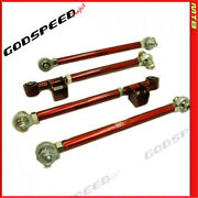 Gsp Ak-010-b Adjustable Rear Lateral Link Set For Subaru Impreza Gd/gg 2002-2007