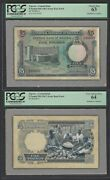 Nigeria Face And Back 5 Pounds Nd 1967 P9 Essay Proof Specimen Uncirculated