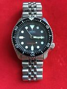 Seiko Automatic 200m Diver Day-date Ref7s26-0020 Men's Watch