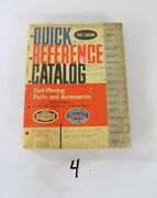 1962 Ford Quick Reference Parts Catalog T-bird Falcon Fairlane Galaxie Truck