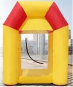Inflatable Cash Machine For Advertising/promotion Inflatable Money Machine Ne Kq