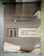Delco-remy Vintage Auto Training Charts 31 Pages Electrical 26 X 36 Approx.