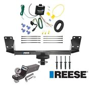 Reese Trailer Tow Hitch For 07-18 Bmw X5 Complete Package W/ Wiring And 2 Ball