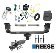 Reese Trailer Tow Hitch For 07-18 Bmw X5 Deluxe Package Wiring 2 Ball And Lock
