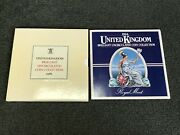 1984 And 1986 United Kingdom Brilliant Uncirculated Coin Collection / Mint Set