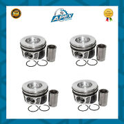 Jaguar 2.0 Piston And Rings Set 204pt Engine For Xe Xf And Xj 40315600 X 4 Pc New