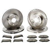 Brake Rotors And Pads - Mx-5 Miata 1994-2000 All 2001-2002 With Standard Brakes