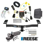 Reese Trailer Tow Hitch For 11-15 Lincoln Mkx Deluxe Wiring 2 Ball And Lock