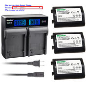 Kastar Battery Lcd Rapid Dual Charger For Nikon Grip Mb-d10 D300 D300s D700 Mb40