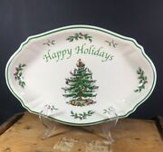 Spode Christmas Tree Happy Holidays Various Pieces Sold By The Piece