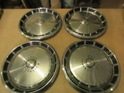 1971-1972-1973 Ford Mustang 14 Hubcaps