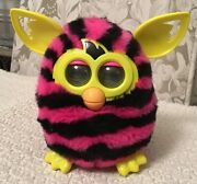 Furby Boom Figure Hot Pink With Black Stripes - Discontinued, A4337, Works