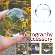 50 Crystal Ball Sphere For Photography With Microfiber Cleaning Cloth