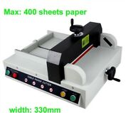Heavy Duty A4 Size Desktop Automatic Electronic Paper Cutter Stack Paper Cutt Xh