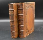 History Of Methodist Church -signed By Dr. Abel Stevens Fine Leather -rare