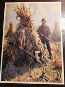 Hunting Camping And Fishing Prints- All Signed Frank Stick