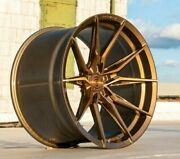 20andrdquo Rohana Rfx13 Brushed Bronze Wheels For Lexus Is F Rc200 Rc350 Lc Rc F