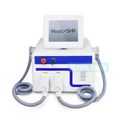 Top Two Handle E-light Shr Ipl Laser Hair Removal Beauty Machine For Clinic Use
