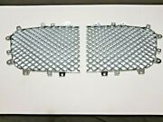 Bentley Continental Gt Gtc And Flying Spur Radiator Chrome Grill Mesh 09 - 11