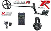 Xp Deus Metal Detector W/ Ws5 Wireless Phones Remote And 11andrdquo X35 Search Coil