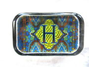 New In Box - Punch Studio Glass Paperweight - Initial H
