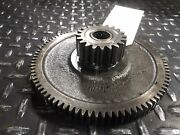 Cl-236587 Gear Clark Tw25b Tw125 Forklift Parts Used Ref 20.532
